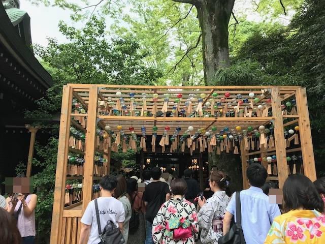 川越氷川神社 縁結び風鈴