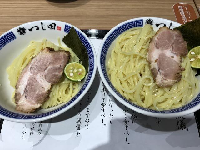 つじ田つけ麺大盛り