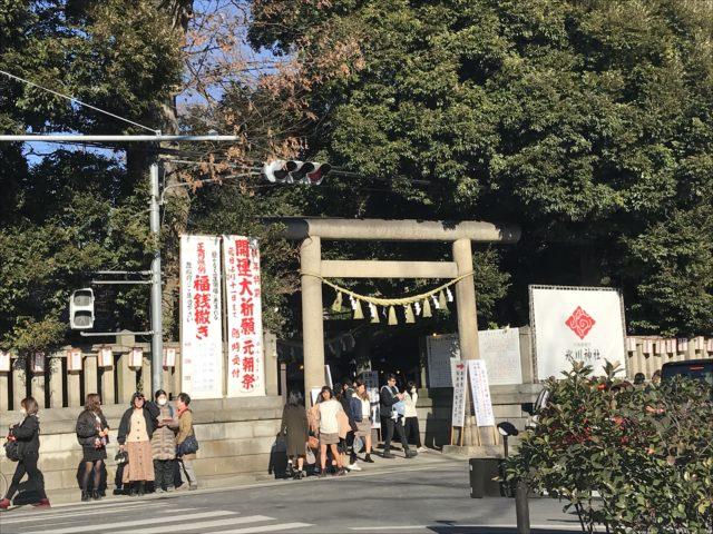 川越氷川神社 初詣